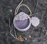 CastleToo -The Shell- Sweet Crossbody Pearl Lolita Handbag