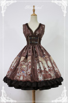 Neverland -Steampunk Cat- Punk Lolita JSK Version II