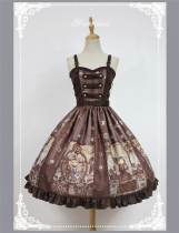 Neverland -Steampunk Cat- Punk Lolita JSK Version I