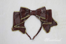 Neverland -Steampunk Cat- Lolita Headbow and Hairclip