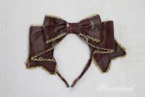 Neverland -Steampunk Cat- Lolita Headbow and Hairclip