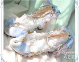 Tea Party Round Toe Sweet Lolita Heel Shoes