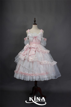 HinanaQueena -Pearl- Princess Sweet Lolita JSK Dress