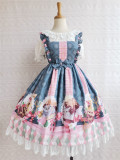 Yilia -Chocolate Cat- Sweet Lolita JSK Dress