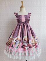 Yilia -Chocolate Cat- Sweet Lolita JSK Dress