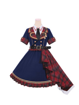 To Alice -Girl Revolution- Punk Ouji Military Lolita OP Dress