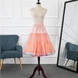 A-Line Shape Dailywear 60cm Long Pastel Lolita Petticoat