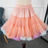 A-Line Shape Puffy Dailywear 50cm Long Pastel Lolita Petticoat