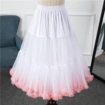 A-Line Shape Dailywear 60cm Long Lolita Petticoat