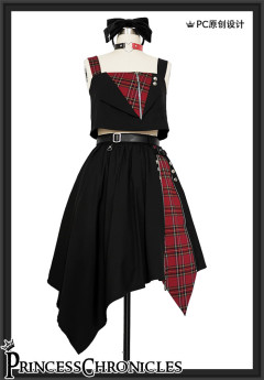 Princess Chronicles -Amusement Park- Punk Loliita Vest and Skirt
