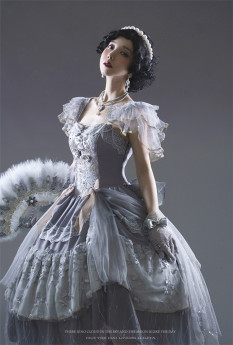 Lingxi -Moon Waves- Fantastic Classic Princess Lolita JSK Dress