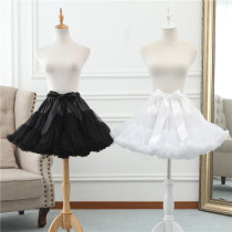 A-Line Shape Puffy Dailywear 45cm Long Lolita Petticoat