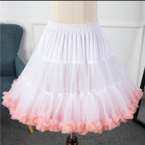 A-Line Shape Puffy Dailywear 50cm Long Lolita Petticoat