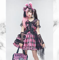 Diamond Honey - Lolita Headbow, Wristcuffs and Waist Bow
