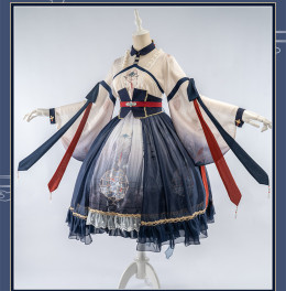 Uwowo -Monring Dew- Qi Lolita OP Dress