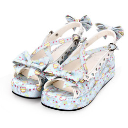 Angelic Imprint - Sweet Lolita Platform Sandals