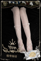 Yidhra -Song Of Ribbon- Thigh Length Lolita Stocking for Summer