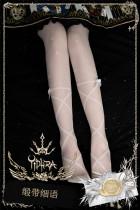 Yidhra -Song Of Ribbon- Thigh Length Lolita Stocking for Summer