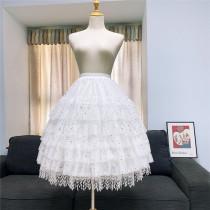65cm Long Adjustable Puffy Level Lolita Petticoat