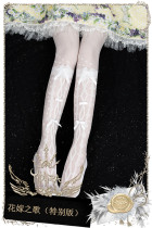 Yidhra -Flower Wedding Dress- Lolita Stocking and Tights for Summer