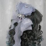 ZJ Story -Sea Moon Cross- Lolita Bonnet and Hairclip