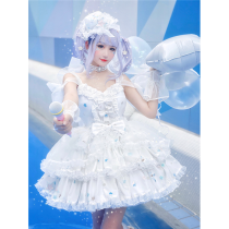 Diamond Honey -Sweet Star Idol- Sweet Lolita JSK Full Set