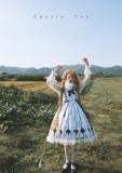 CastleToo -Poker Alice- Sweet Lolita JSK and Apron Set