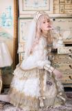 Sika Lolita -Nightmare at Dawn- Elegant Classic Gothic Lolita OP Dress Version I