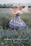Psalm of Lyra -Smmer Afternoon Tea- Classic High Waist Lolita JSK
