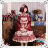 Milu Orig -Lotus Chrysanthemum- Sweet Lolita JSK