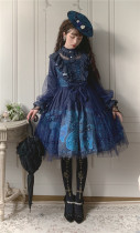 The Star Lolita -Star Whisperer- Vintage Classic Lolita OP Dress