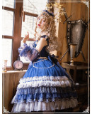 Yinluofu -Starry Night- Classic Lolita JSK Full Set