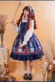 Brocade Garden -Lady Cat- Sweet Lolita JSK