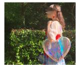 NanNan -The Jellyfish- Sweet Heart Shape Lolita Shoulder Handbag