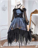 Decay Forest Halloween Gothic Lolita JSK Full Set