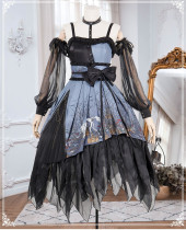 Decay Forest Halloween Gothic Lolita JSK Full Set
