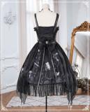 The Vampire Diaries Halloween Gothic Lolita JSK Full Set