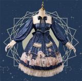 Uwowo -Astrologer Parthenon- Sweet Lolita OP Set