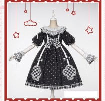 Uwowo -Milk Tea- Sweet Lolita OP Dress