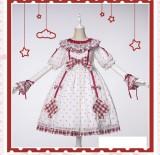 Uwowo -Milk Tea- Sweet Lolita OP Dress