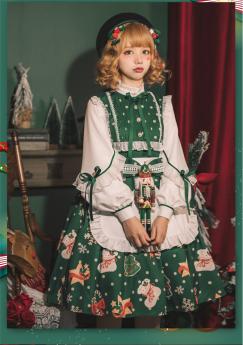 Christmas Gift Sweet Lolita OP Dress
