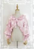 Time Memory Sea Shell Chiffon Puffy Sleeves Lolita Bolero