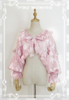 Time Memory Sea Shell Chiffon Puffy Sleeves Lolita Bolero