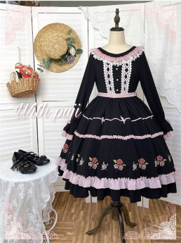 Withpuji -Anna- Classic Lolita OP Dress