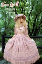 Dream Tea -Lost Alice- Elegant Classic Lolita OP Dress