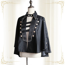 Immortal Thorn -Eternal Blackwing- Ouji Lolita Cape