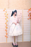 Alice Girl -The Crane- High Waist Wa Lolita JSK