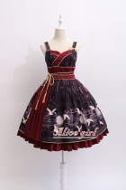 Alice Girl -The Crane- Normal Waist Wa Lolita JSK