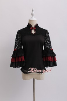 Alice Girl -The Crane- Lolita Blouse