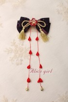 Alice Girl -The Crane- Wa Lolita Headbow and Hairclip